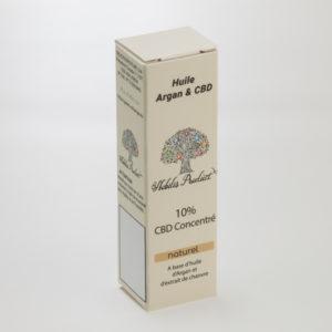 Huile Argan CBD Nobilis product 10% CBD