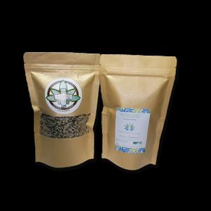 Graines de chanvre décortiquées bio - sachet de 250gr